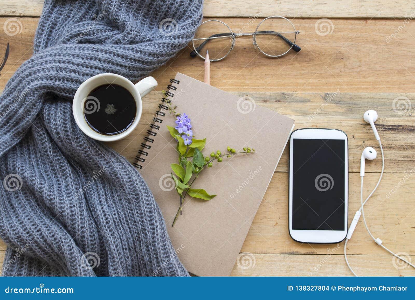Planificateur de carnet pour le travail et le café d affaires