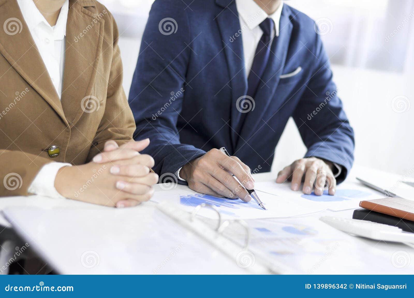 Planification de comptabilité, gestion de portefeuille, rencontrant des conseillers, examen de gestion, présentation des idées