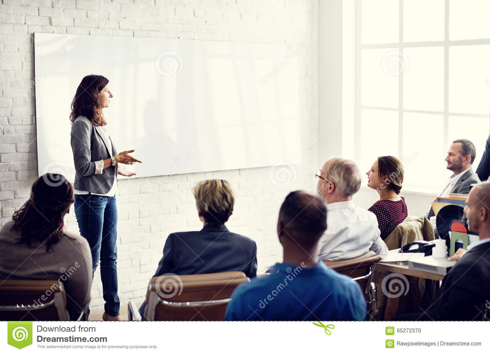 Planification de formation de conférence apprenant le concept de entraînement d affaires
