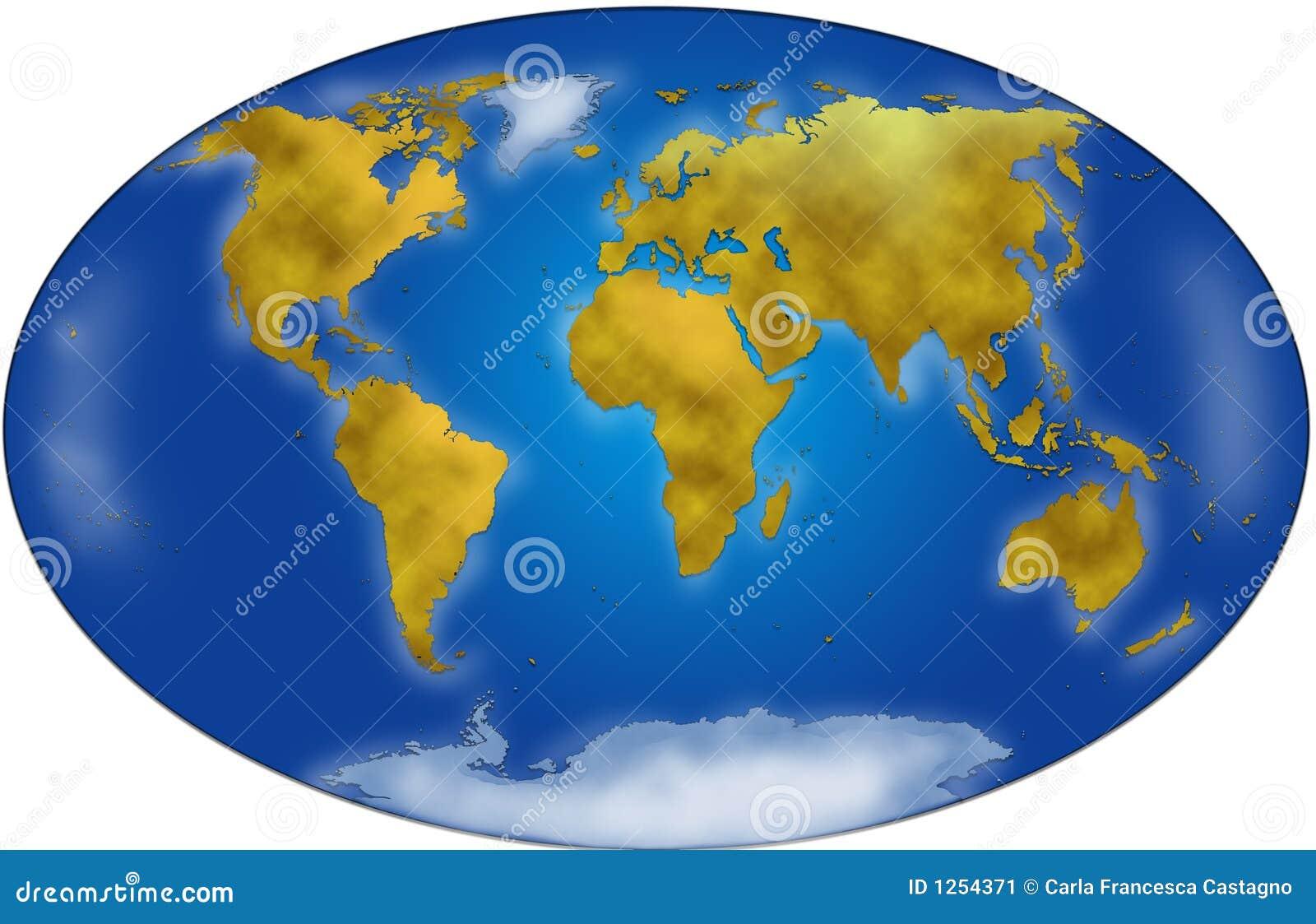 Imagen de archivo: Planisferio de la correspondencia de mundo