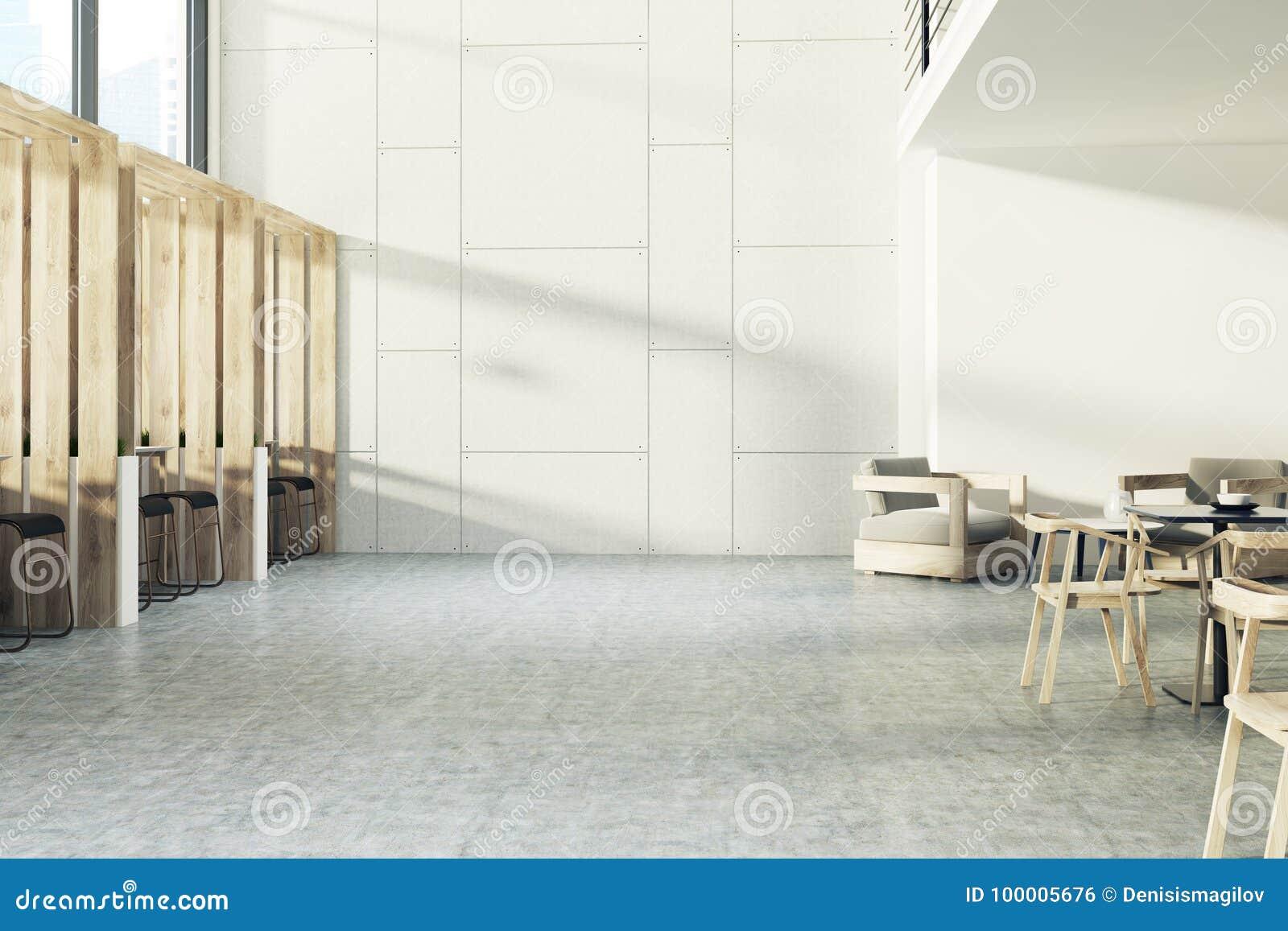 Modern interior design of the corridor stock image image of