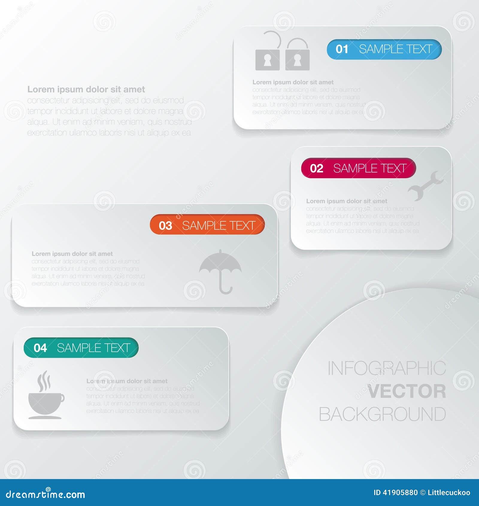 Planlägg diagrammet för nummerbanermallen eller websiteorienteringen