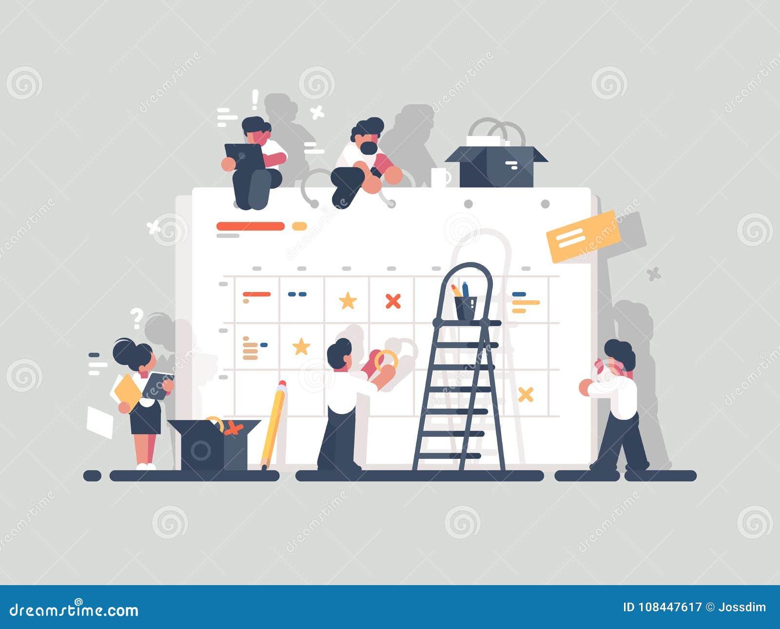 Planläggning och organisation av uppgifter ombord
