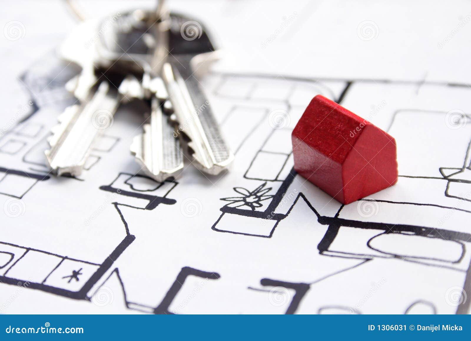 Plannen voor nieuw huis