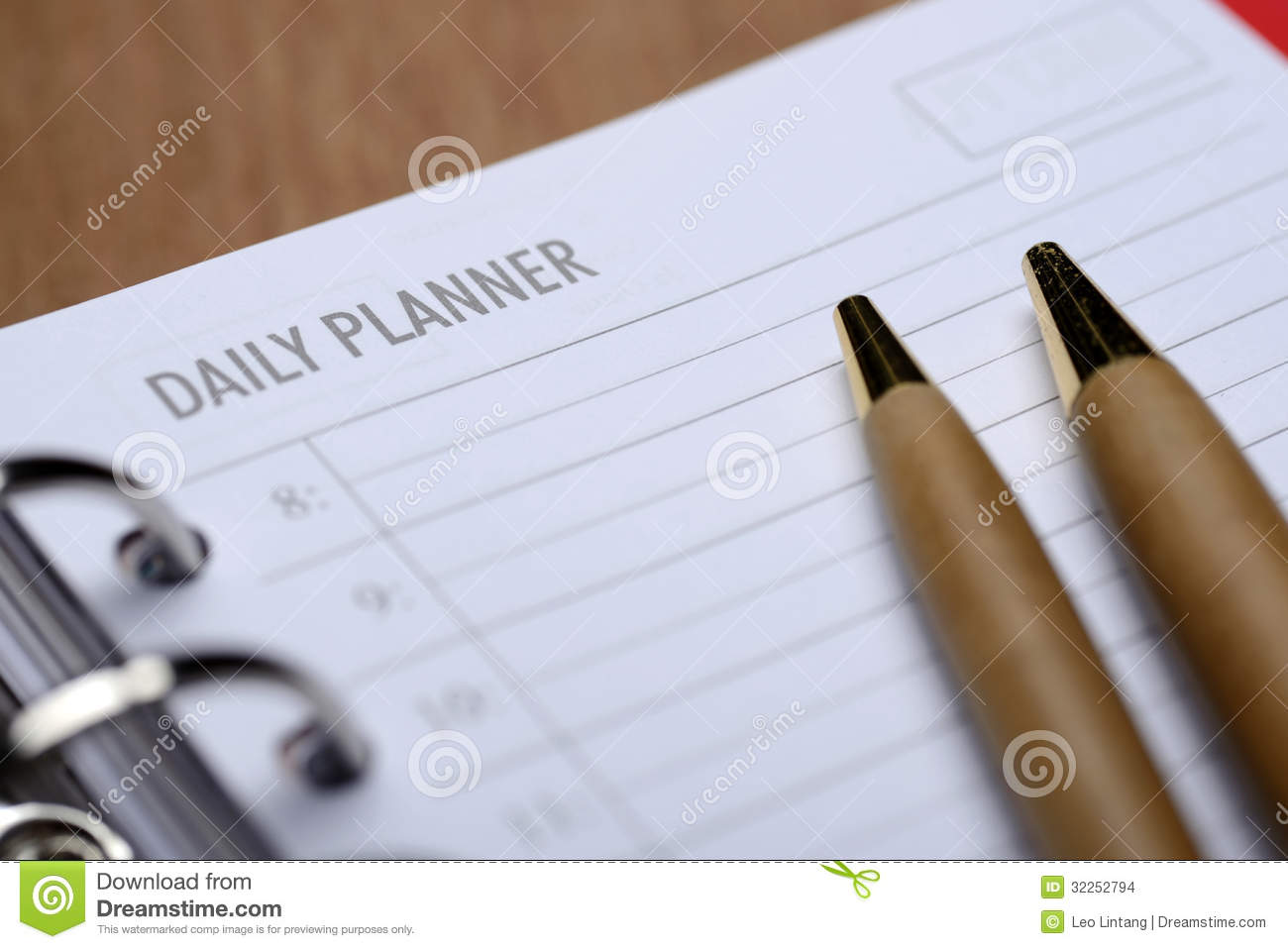 daily planner concept stock photo  image of agenda  notes
