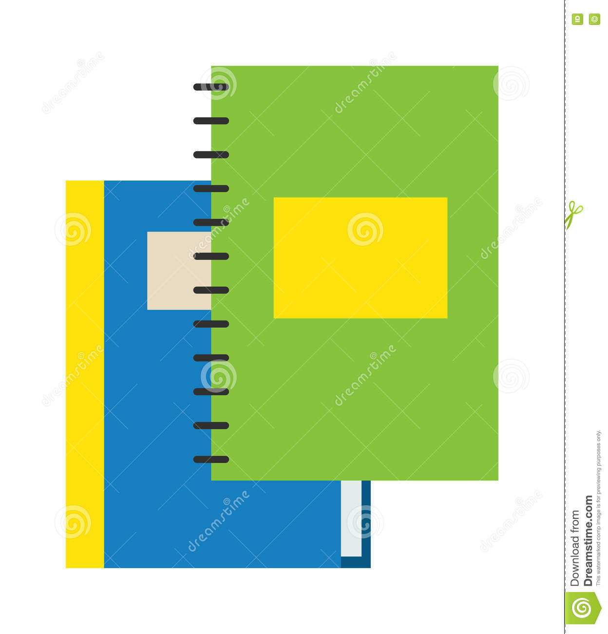 Planners stock photo 16281330 for Construction organizer notebook