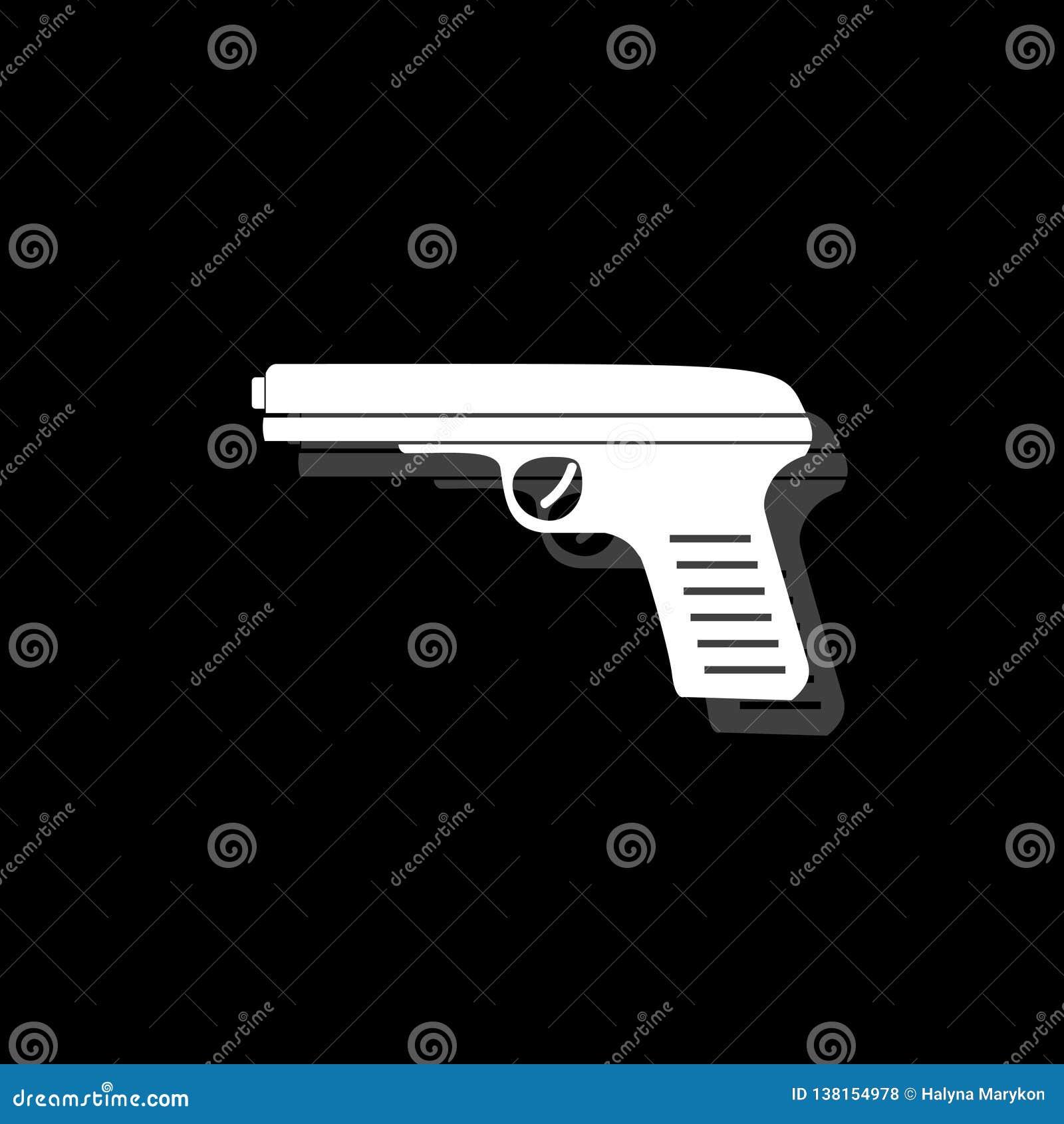 Plano do ícone da arma
