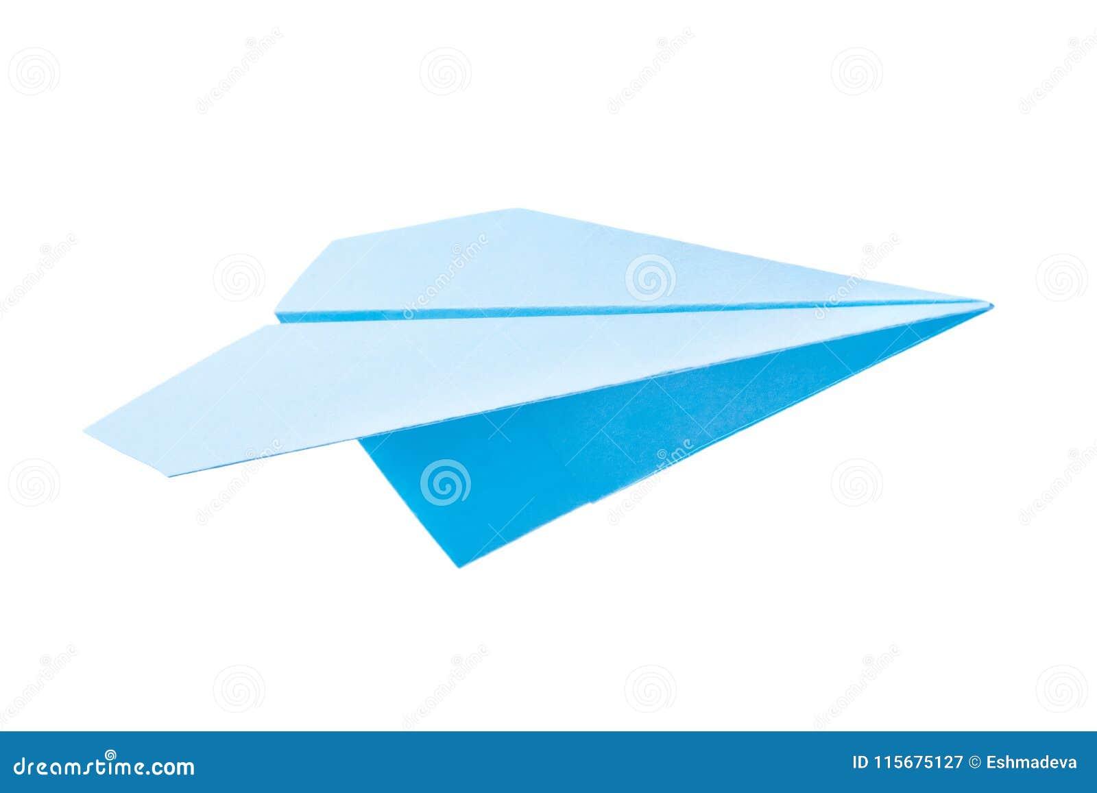 Plano do papel azul