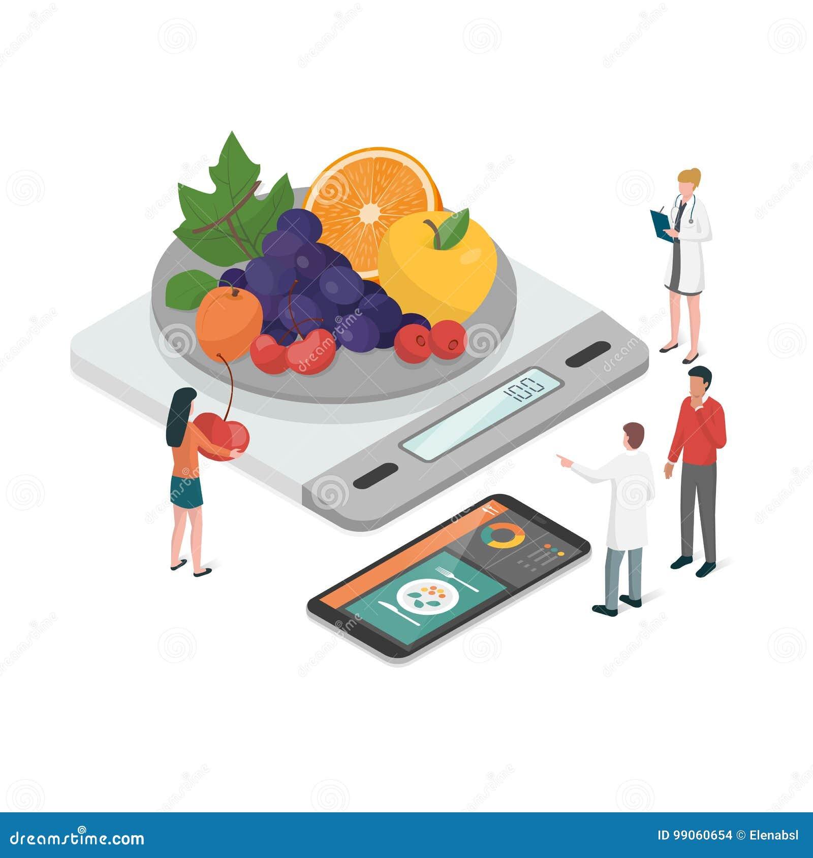 Plano e nutrição da dieta
