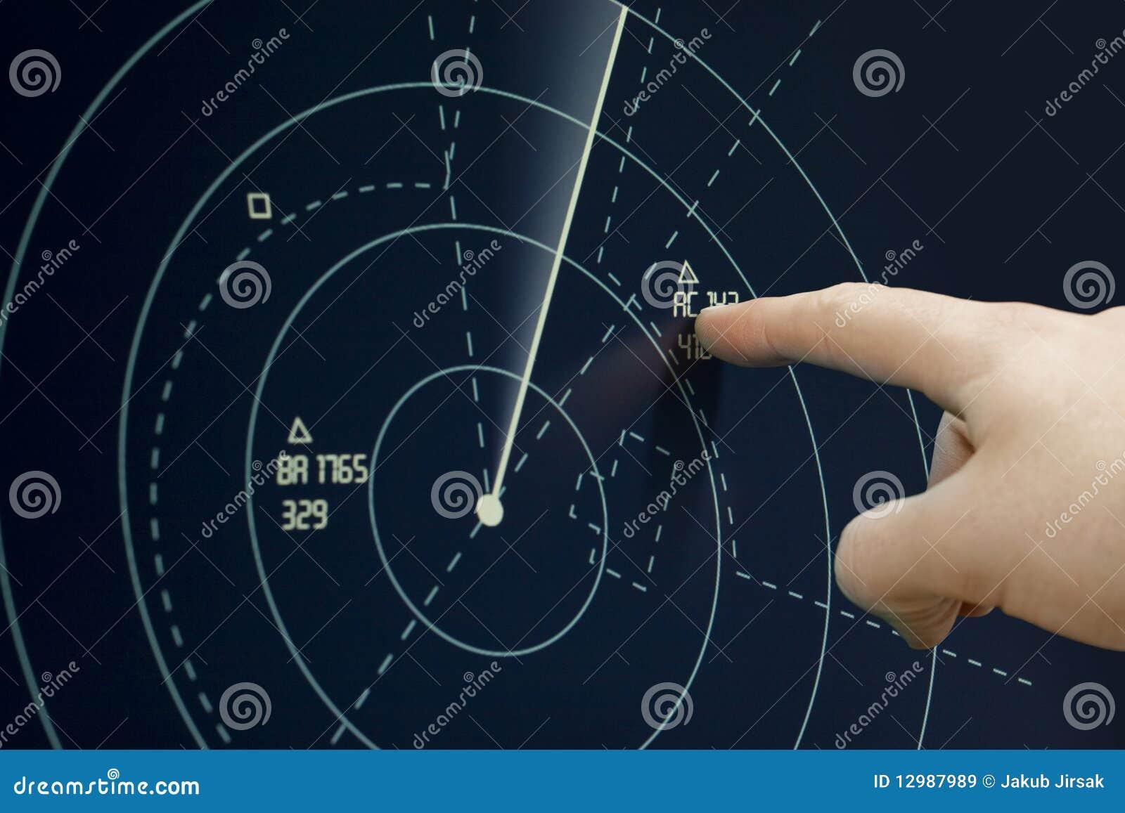 Plano en el radar