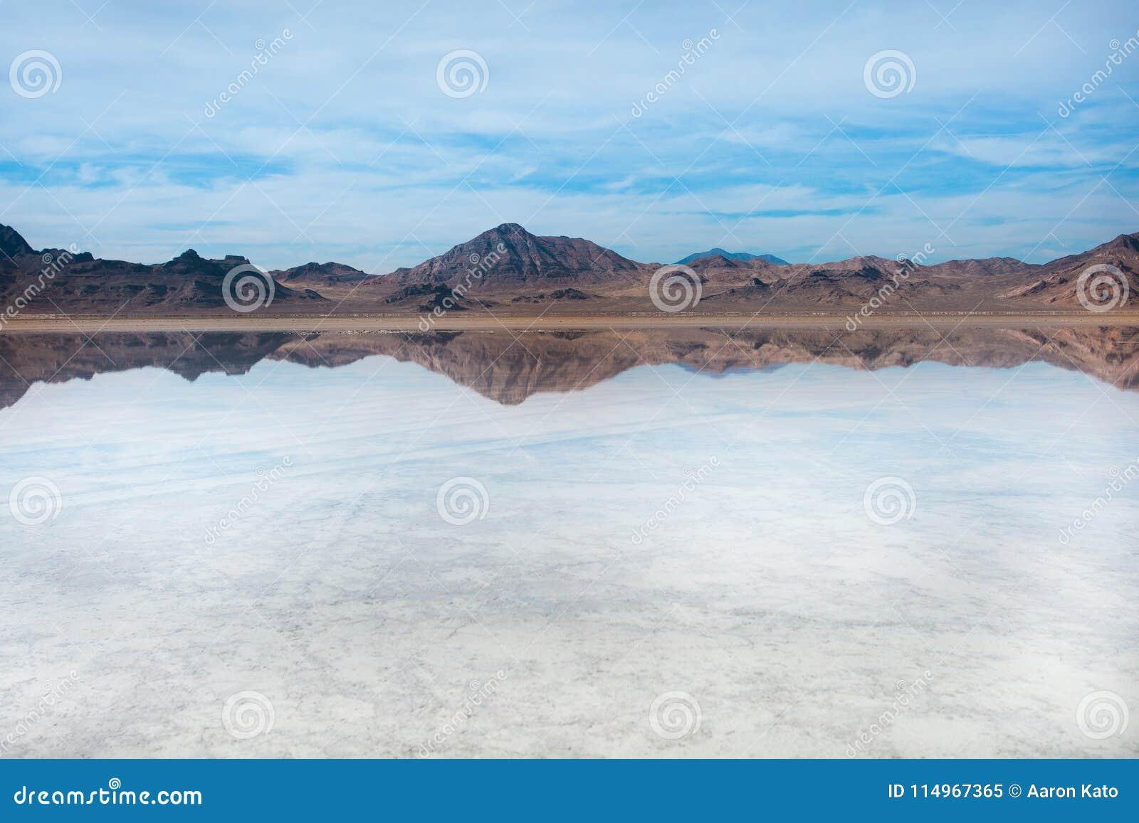 Planos de sal de Bonneville, Tooele County, Utá, Estados Unidos