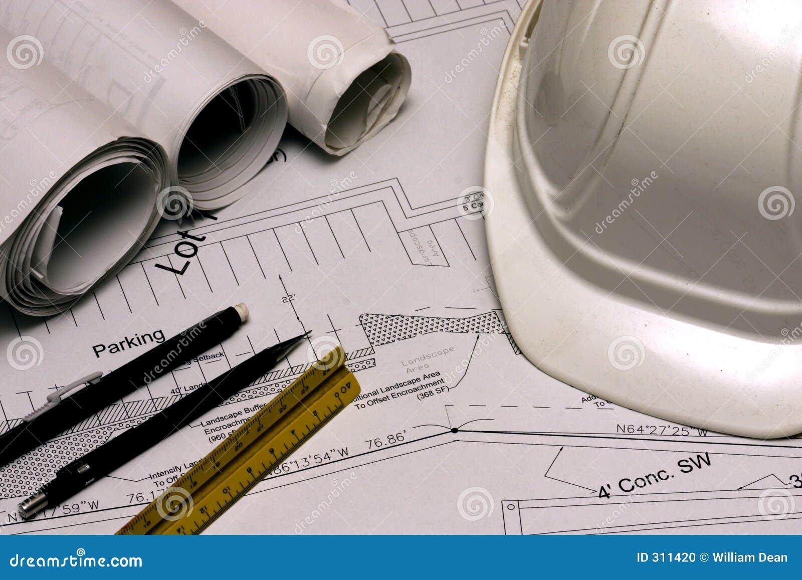 Plans 1 de construction