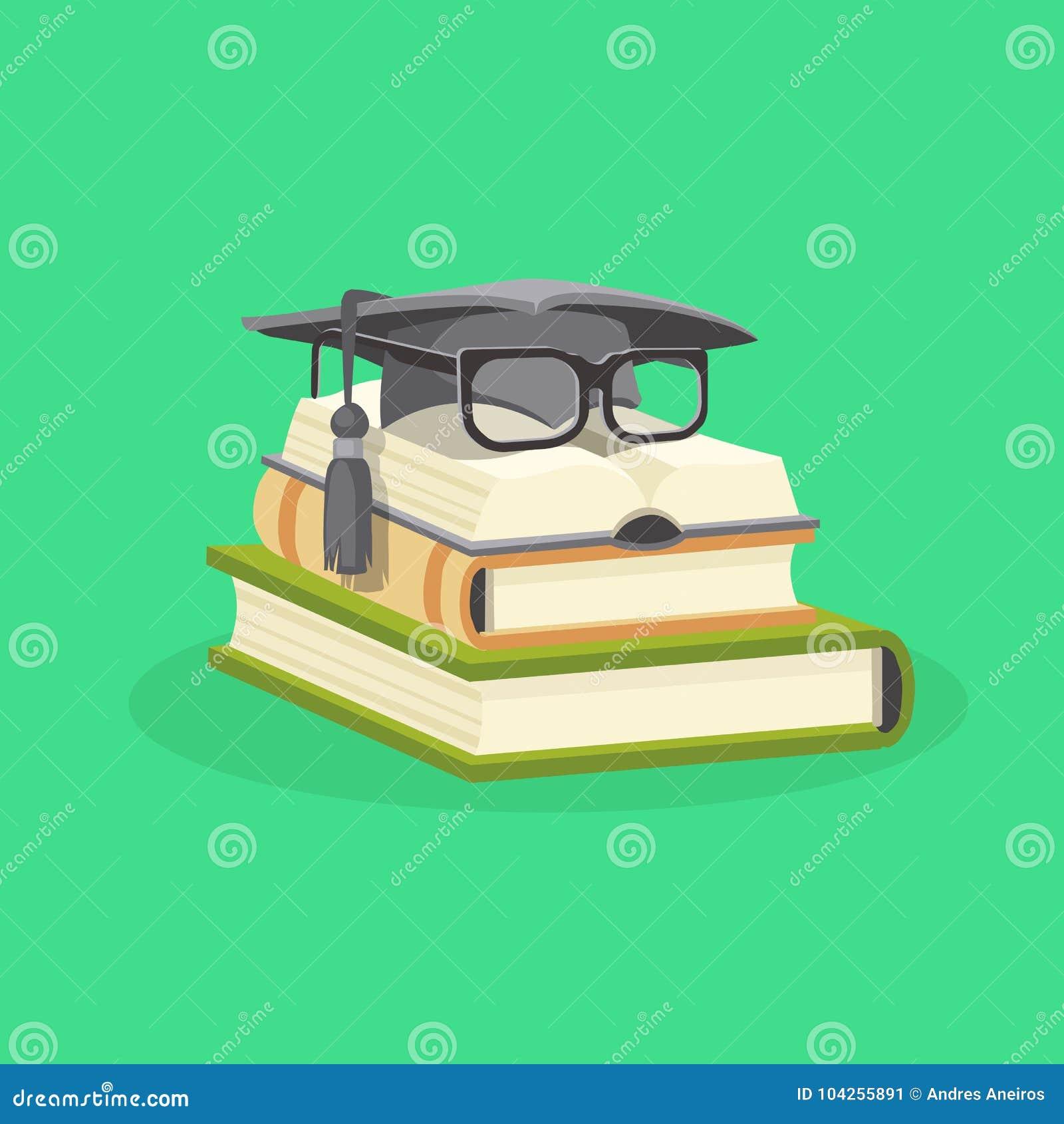 Plant designbegrepp för studie och för utbildning också vektor för coreldrawillustration