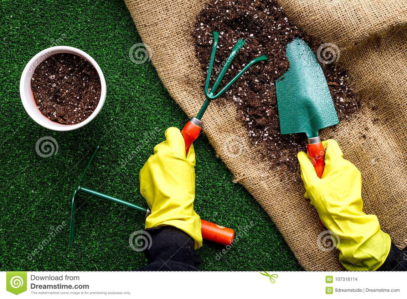 Plant Flowers For Garden Tools Spade Fork Hand Cultivator Hoe