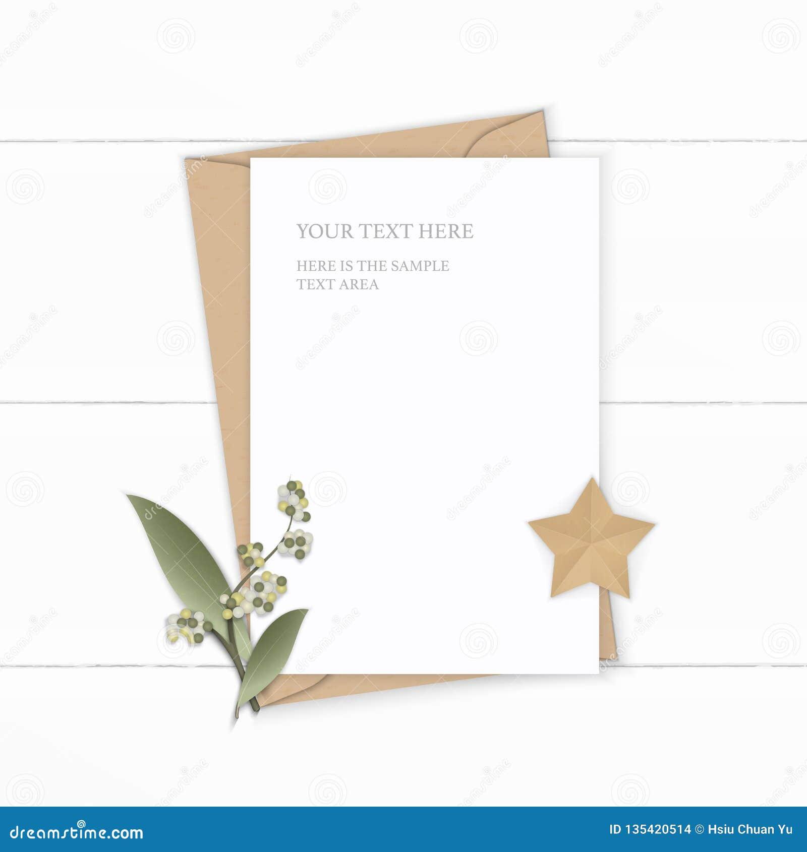 Plant lekmanna- för sammansättningsbokstav för bästa sikt elegant vitt för kraft hantverk för form för blad och för stjärna för b