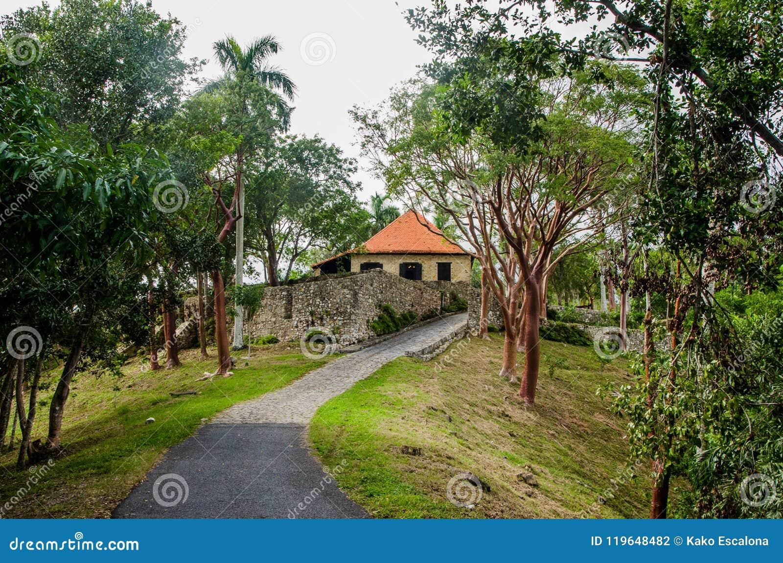 Plantação de café colonial Cuba 1