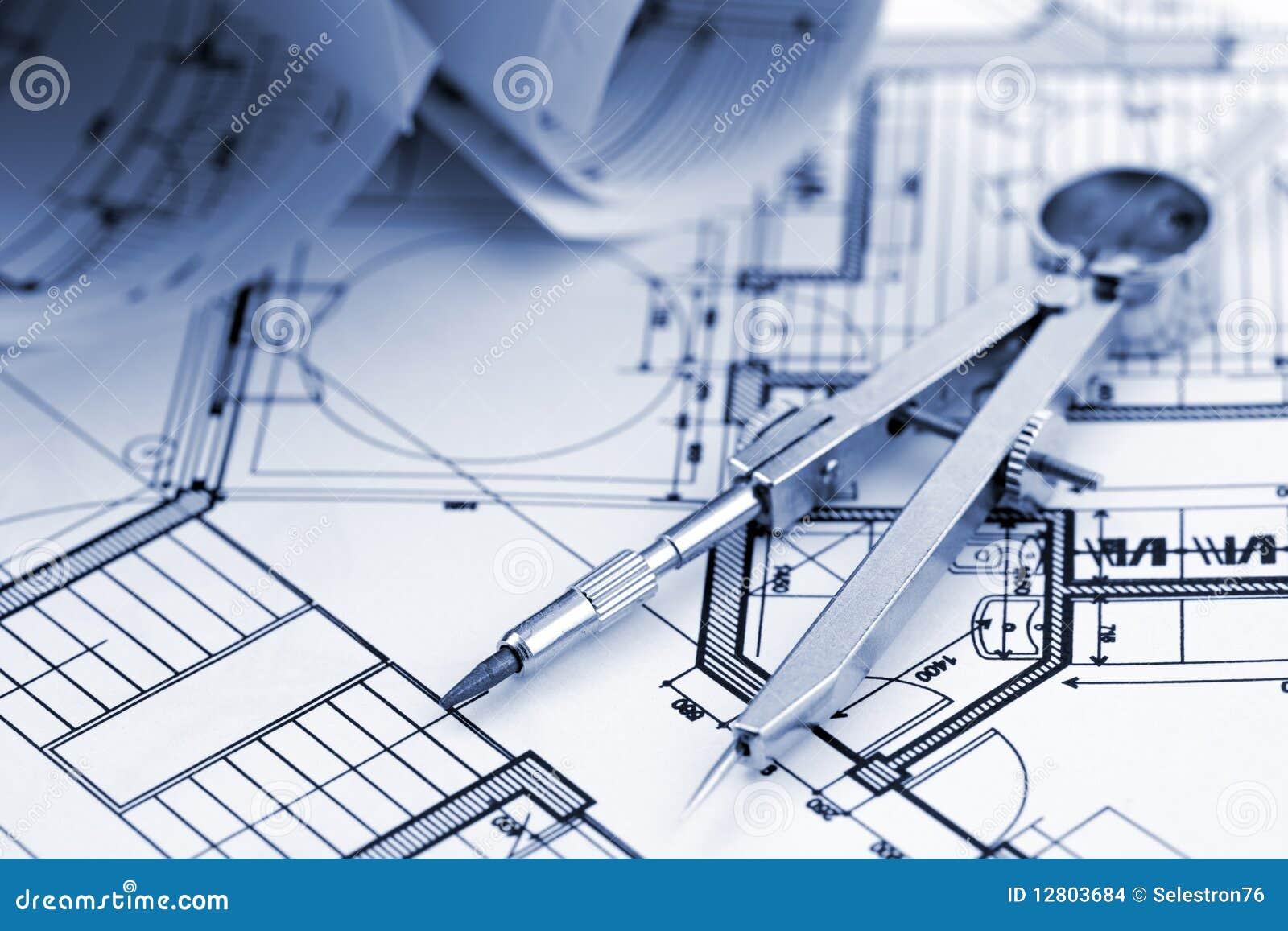 Planta da arquitetura