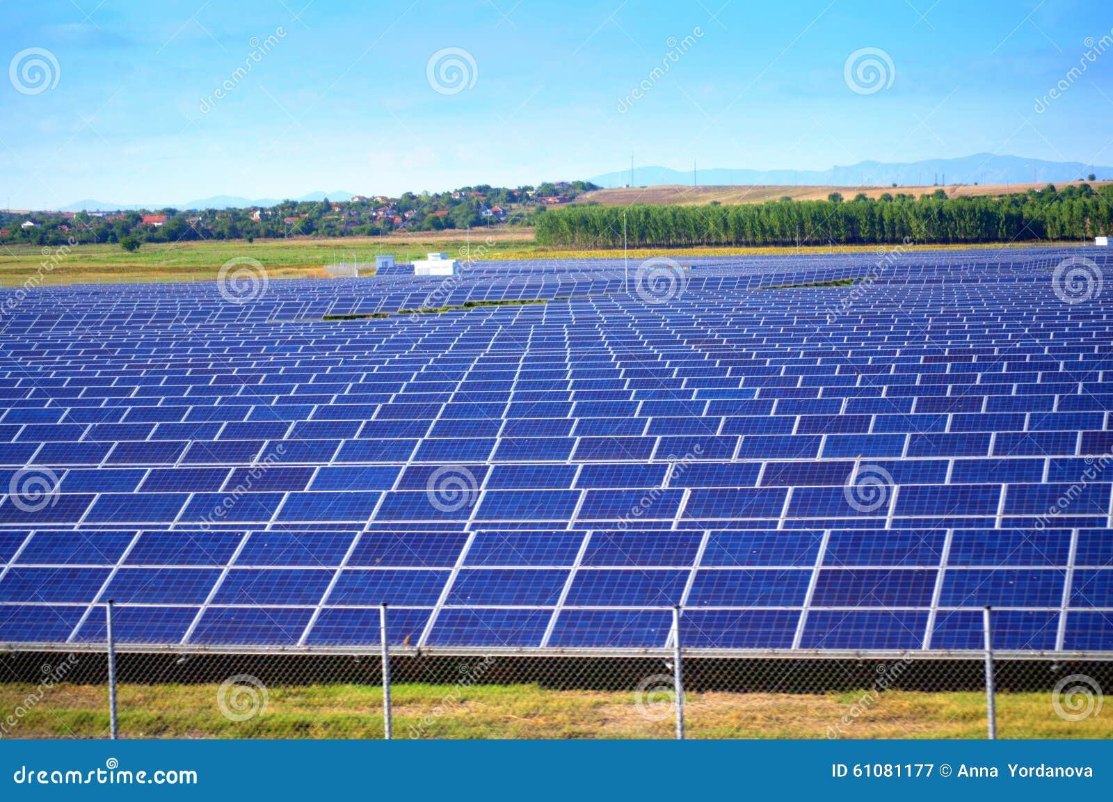 Planta de energía solar