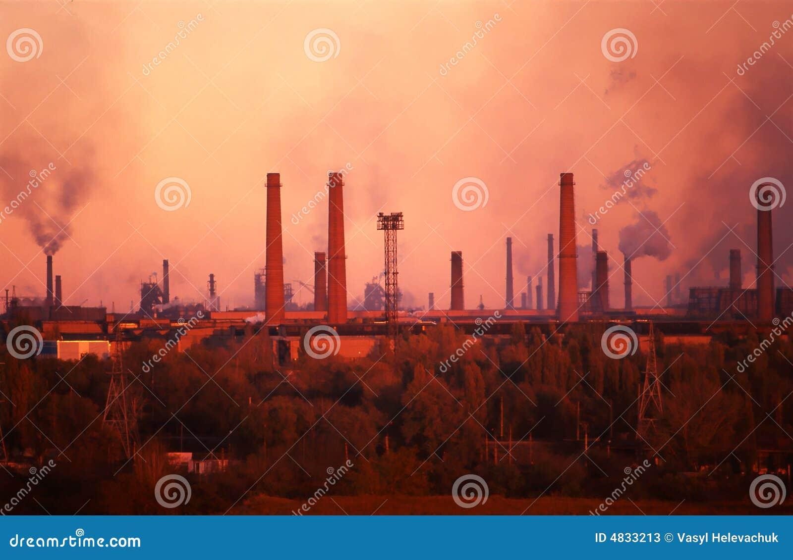 Planta de la metalurgia