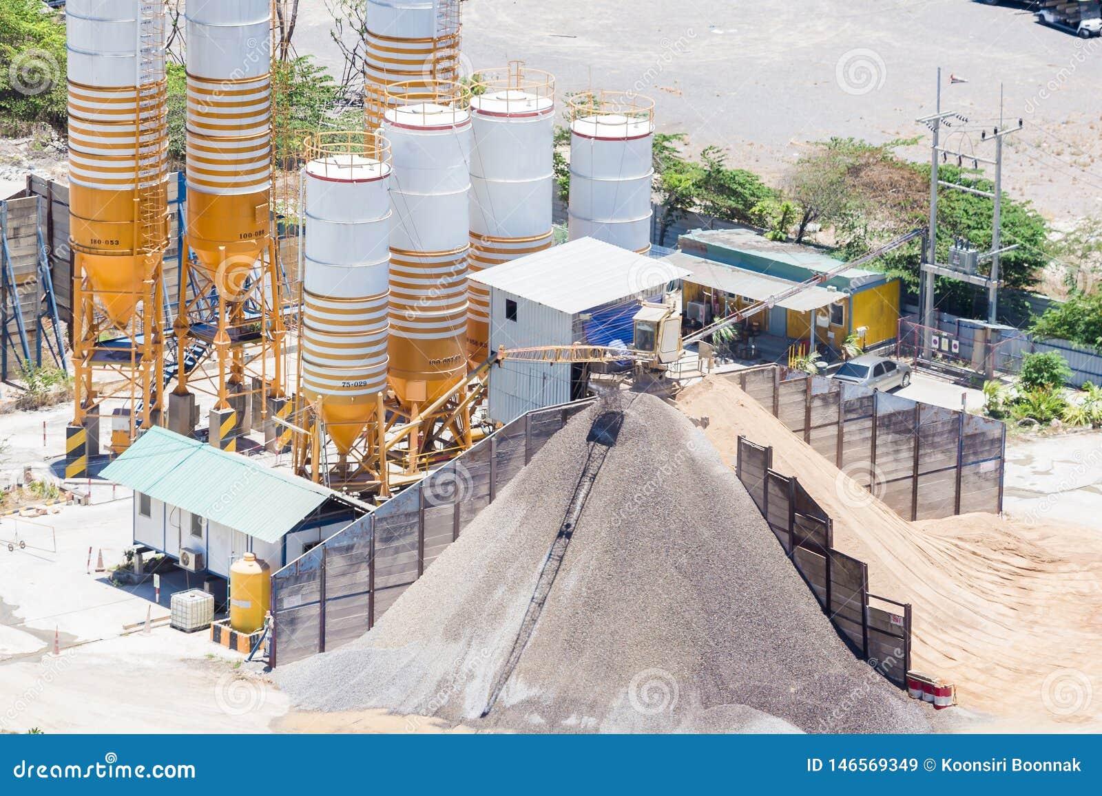 Planta de mistura do cimento, equipamento para o cimento da produ??o e concreto