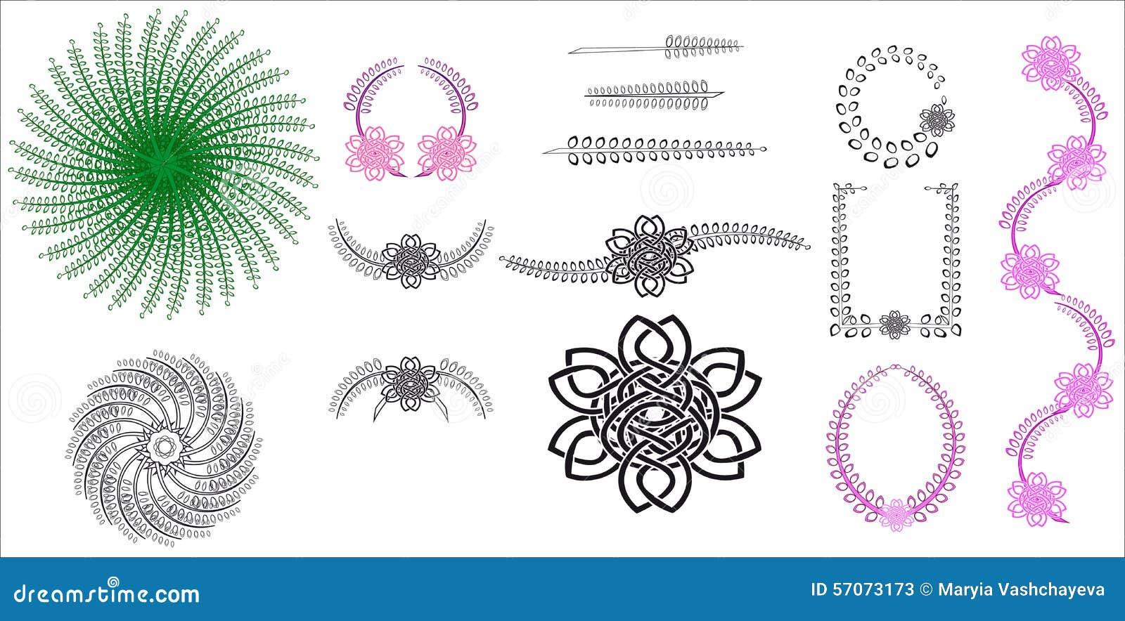 Plantaardig patroon