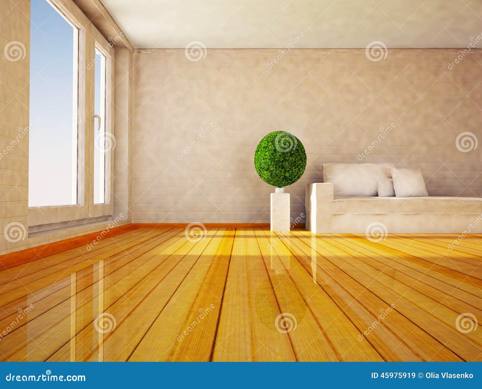 Plante verte ronde dans la chambre illustration stock image 45975919 - Plante dans la chambre ...