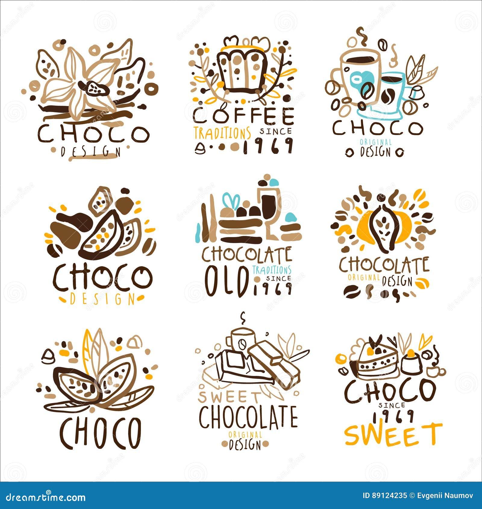 Plantilla Colorida Logo Series, Del Diseño Gráfico De Las ...