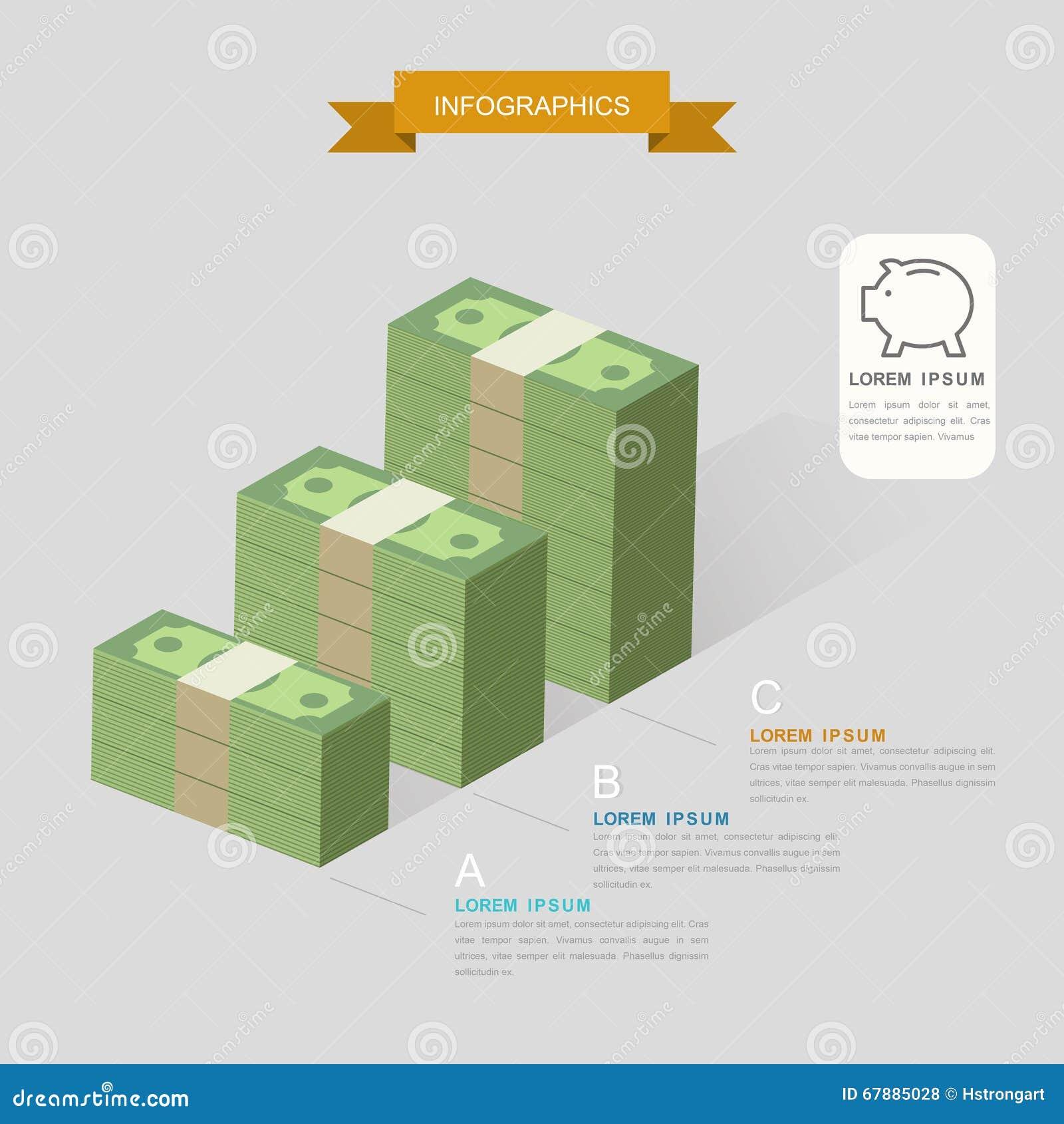 Plantilla creativa de Infographic