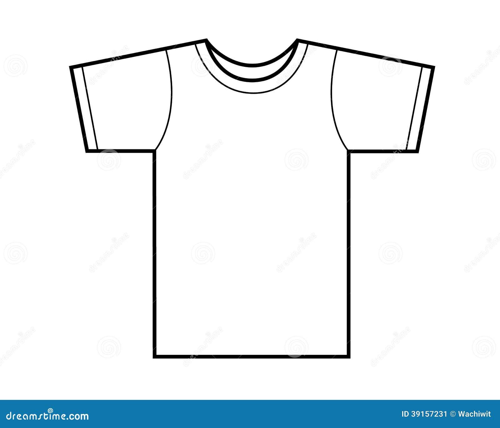 Plantilla de la camiseta ilustración del vector. Ilustración de ...