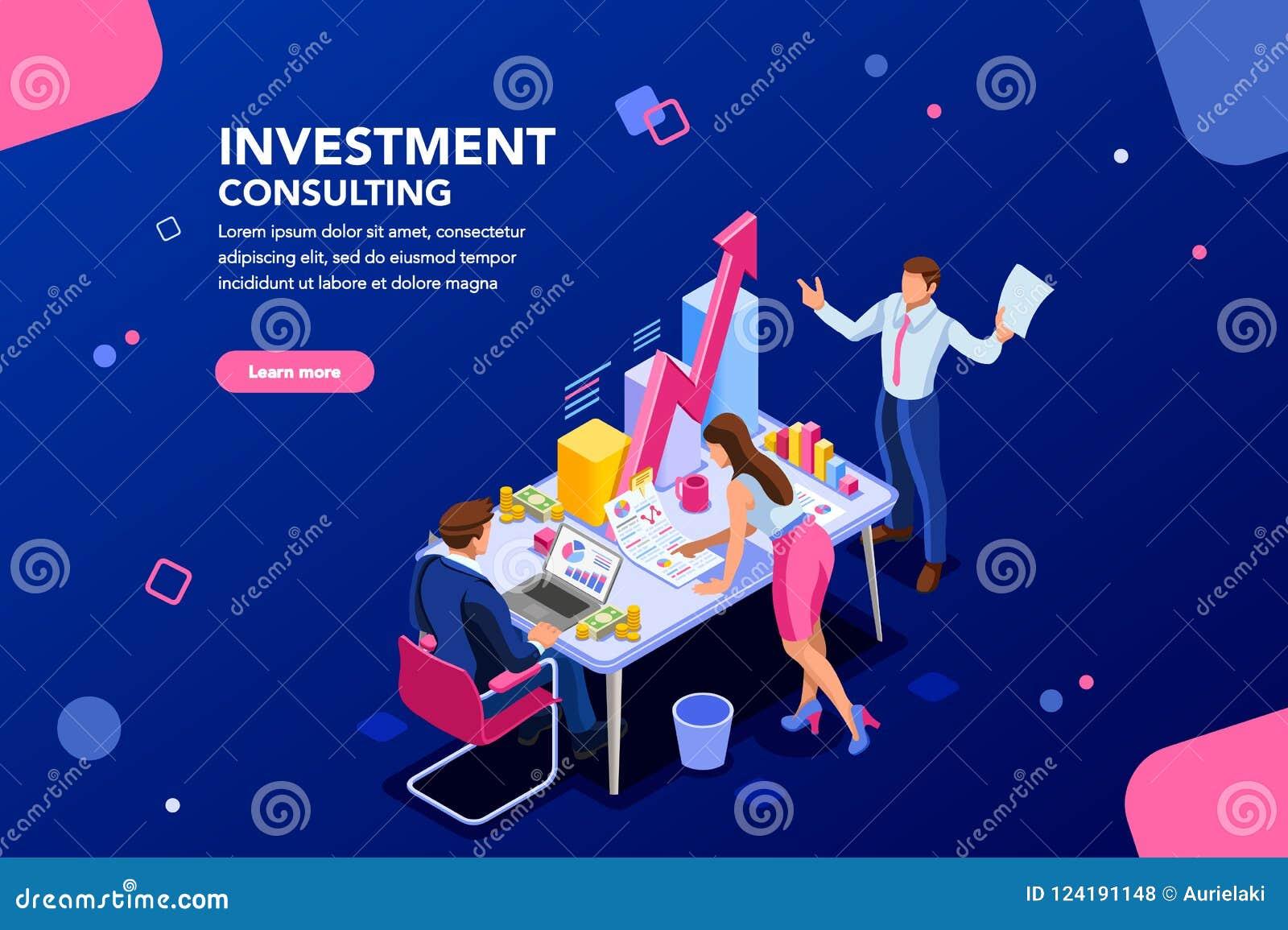 Plantilla de la reunión de la inversión empresarial para el sitio web