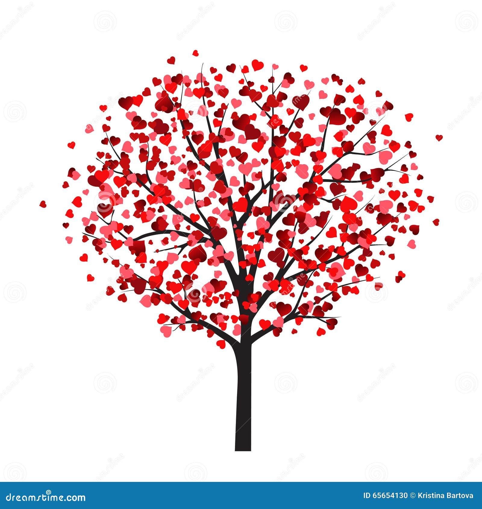 Plantilla De La Tarjeta De La Tarjeta Del Día De San Valentín Con El ...