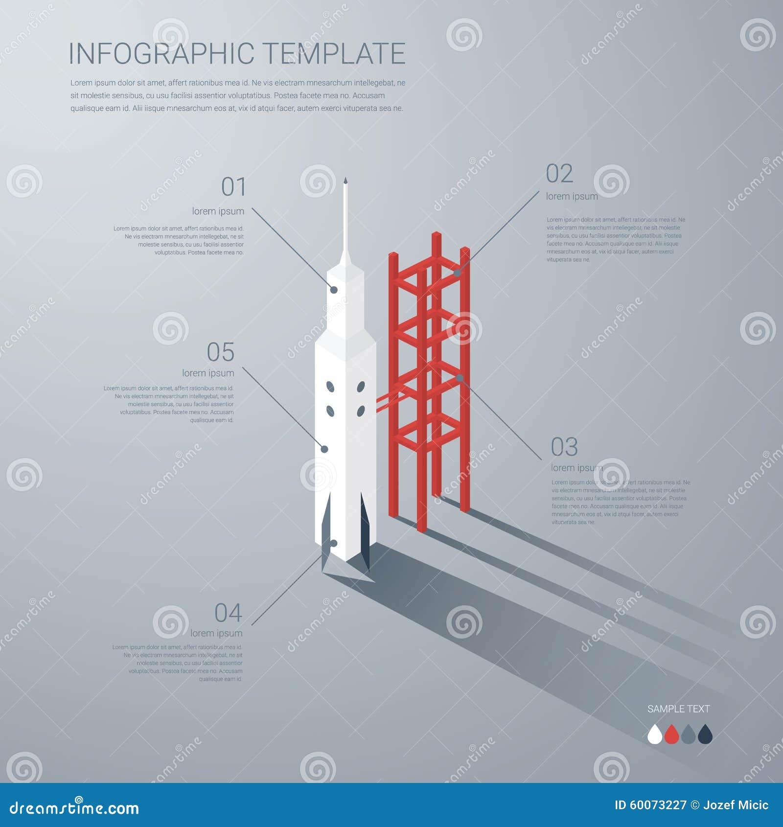 Plantilla De Lanzamiento Del Infographics Del Negocio Arranque ...