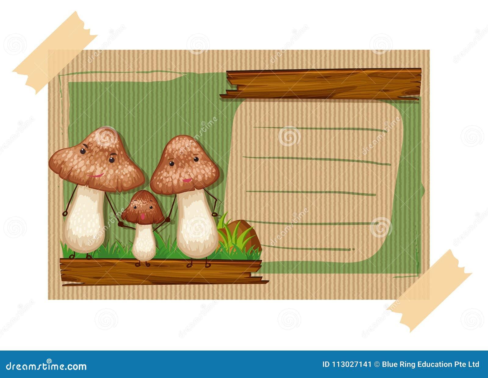 Plantilla de Namecard con las setas