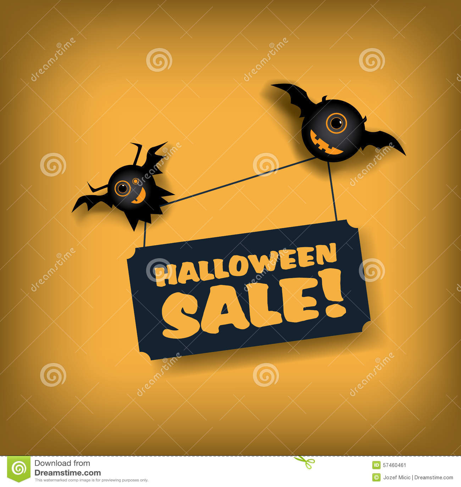 Plantilla Del Cartel De La Venta De Halloween Oferta Especial ...