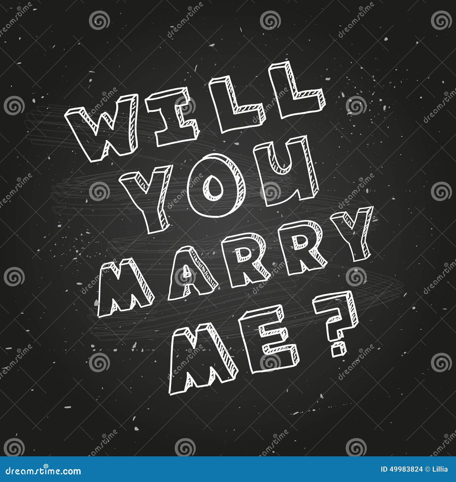 Plantilla Del Cartel Para El Diseño De La Propuesta De Matrimonio ...