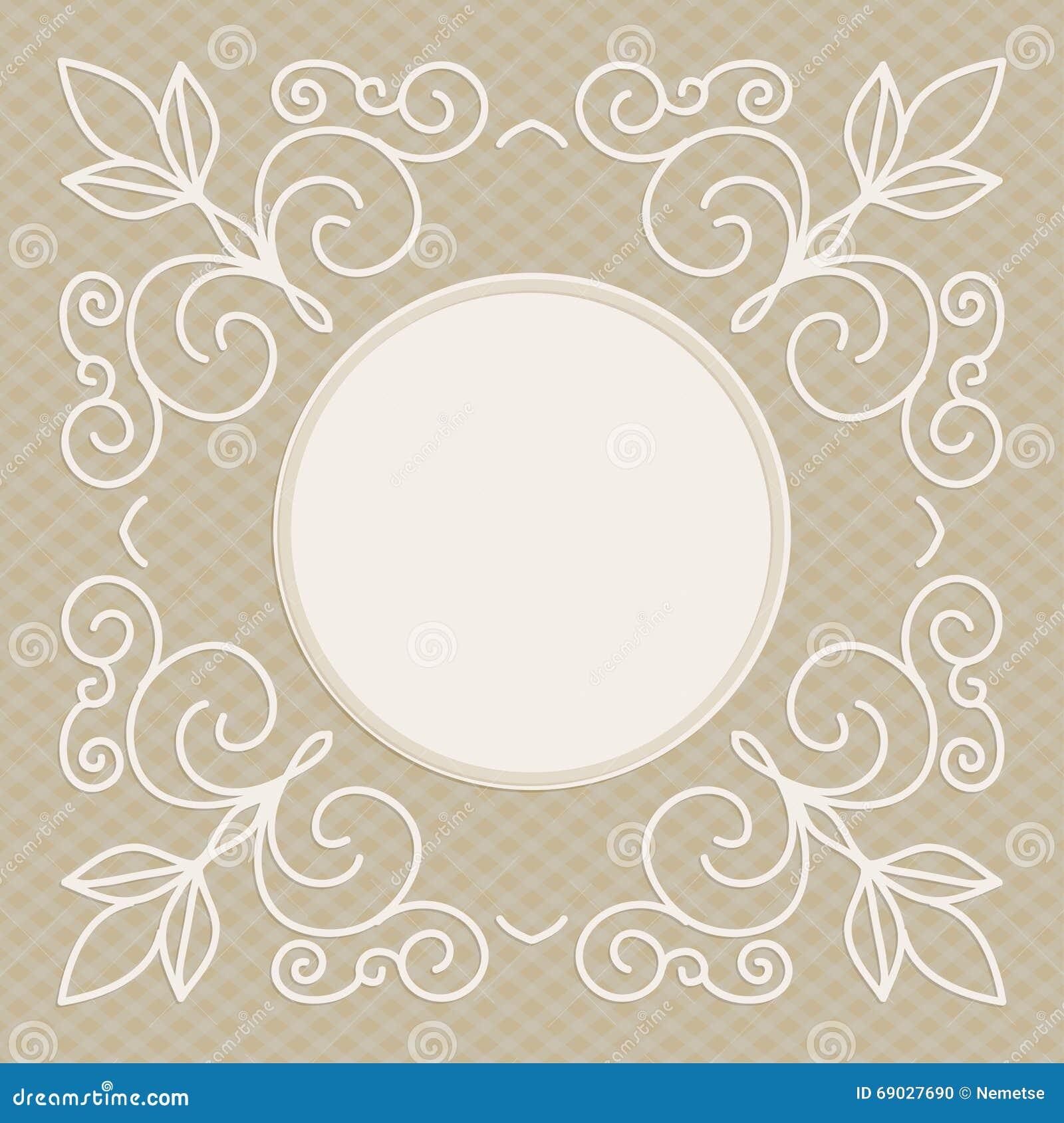 Plantilla del dise o de la invitaci n de la boda fondo - Disenos tarjetas de boda ...