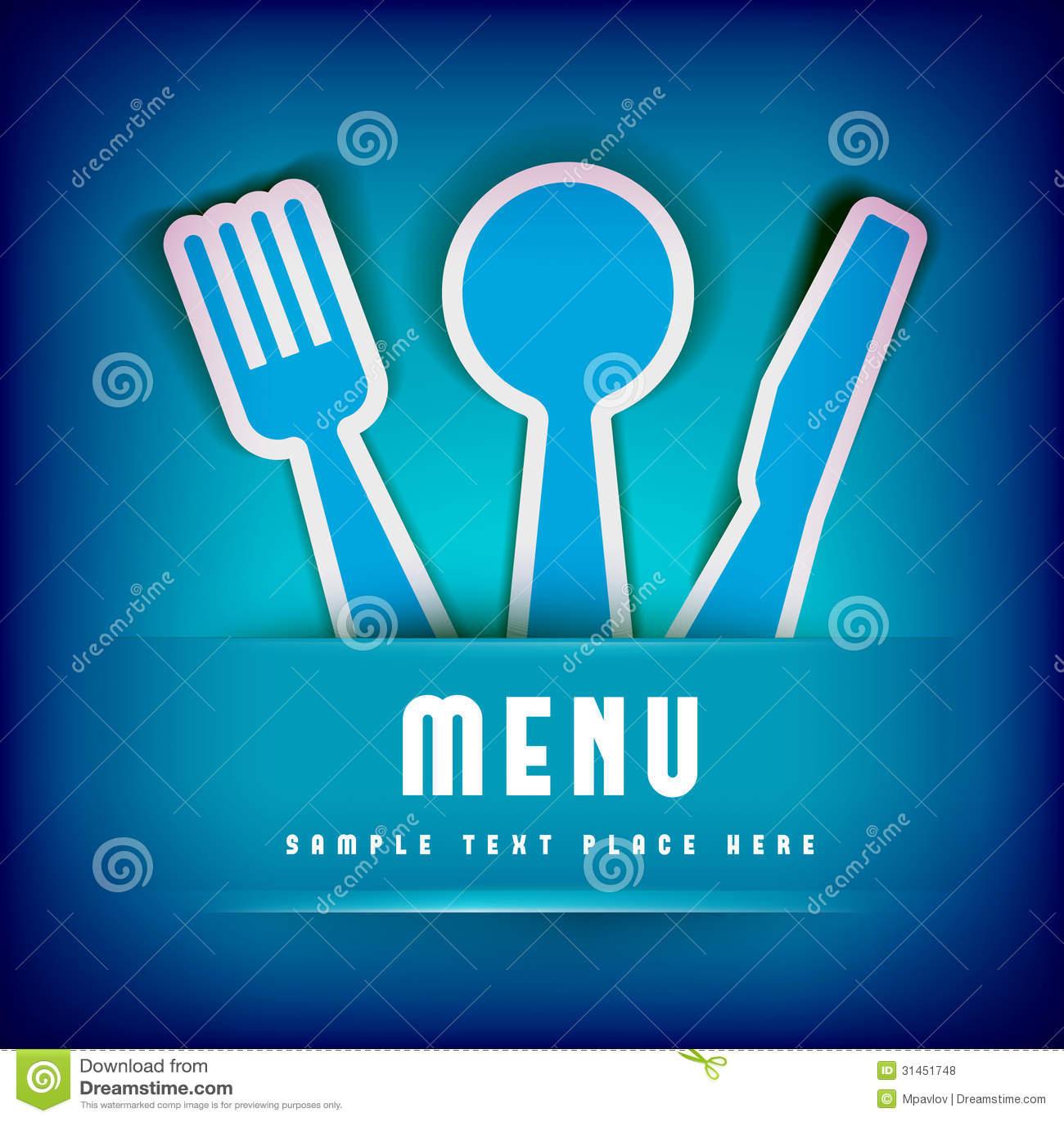 Plantilla Del Diseño De Tarjeta Del Menú Del Restaurante ...