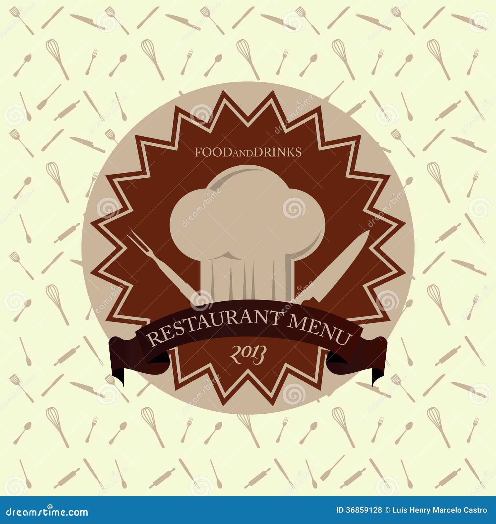 Bonito Plantillas De Diseño De Cocina Restaurante Foto - Como ...