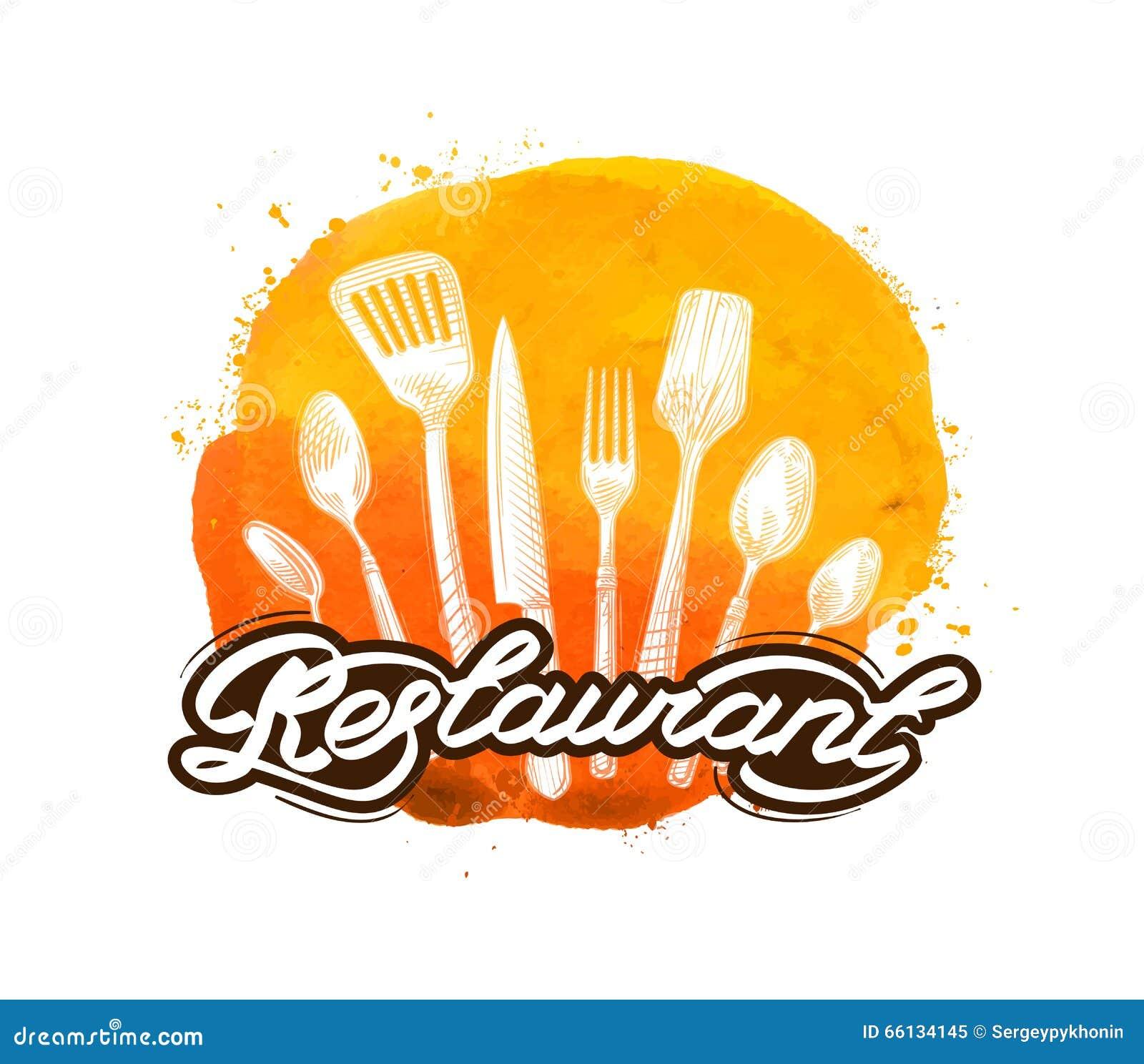 Plantilla Del Diseño Del Logotipo Del Vector Del Restaurante ...