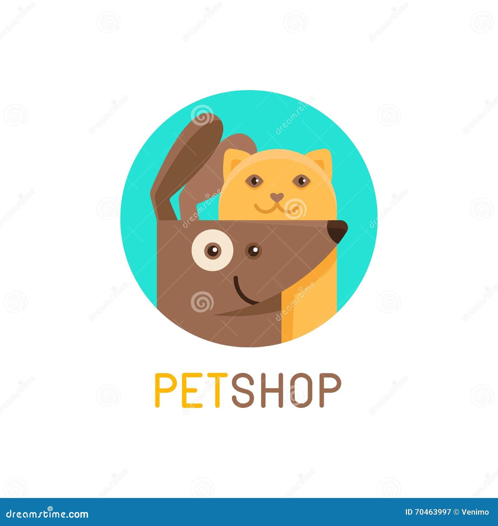 Plantilla del dise o del logotipo del vector para las - Diseno de clinicas veterinarias ...