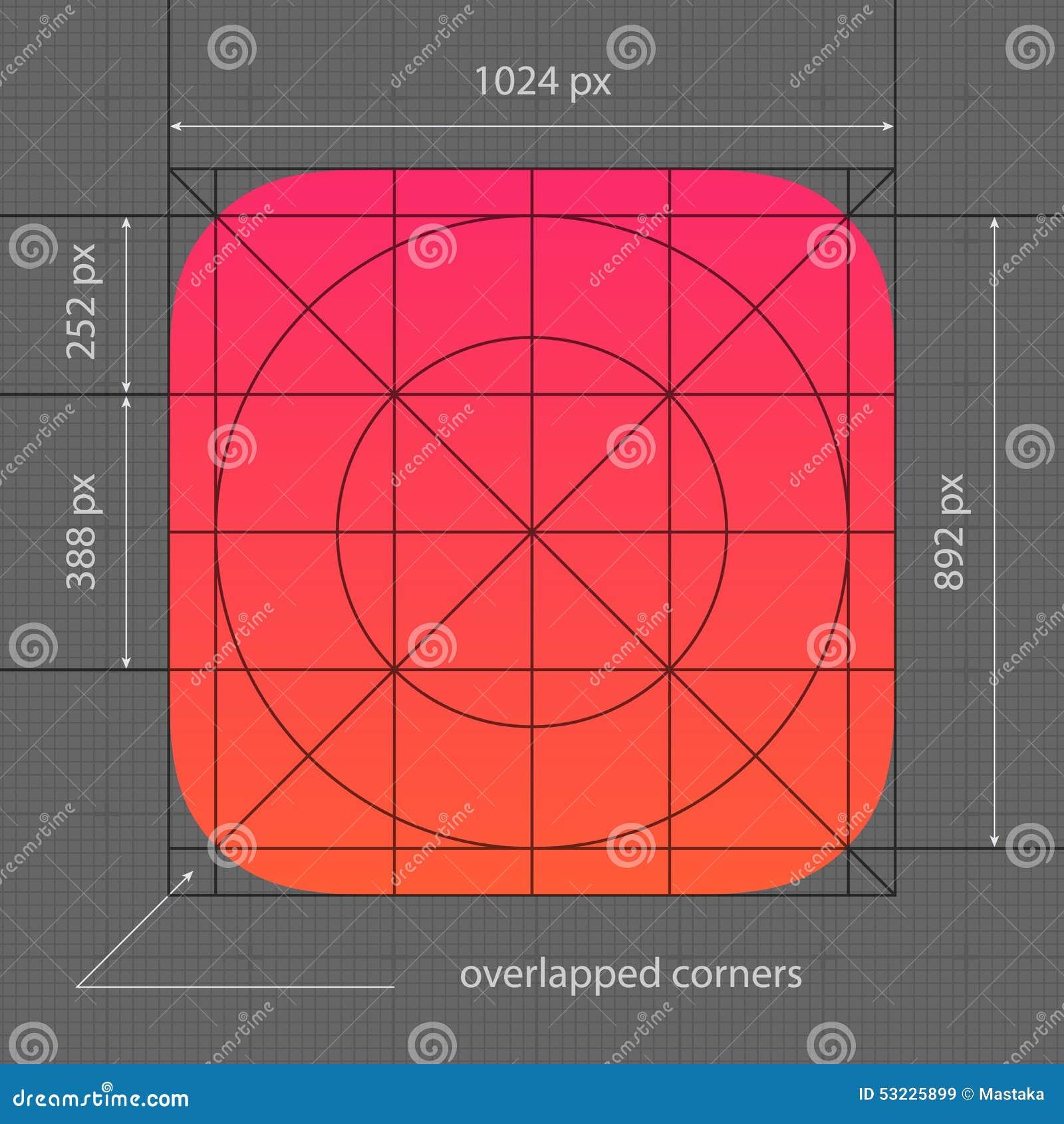 Plantilla Del Icono Del App Ilustración del Vector - Ilustración de ...