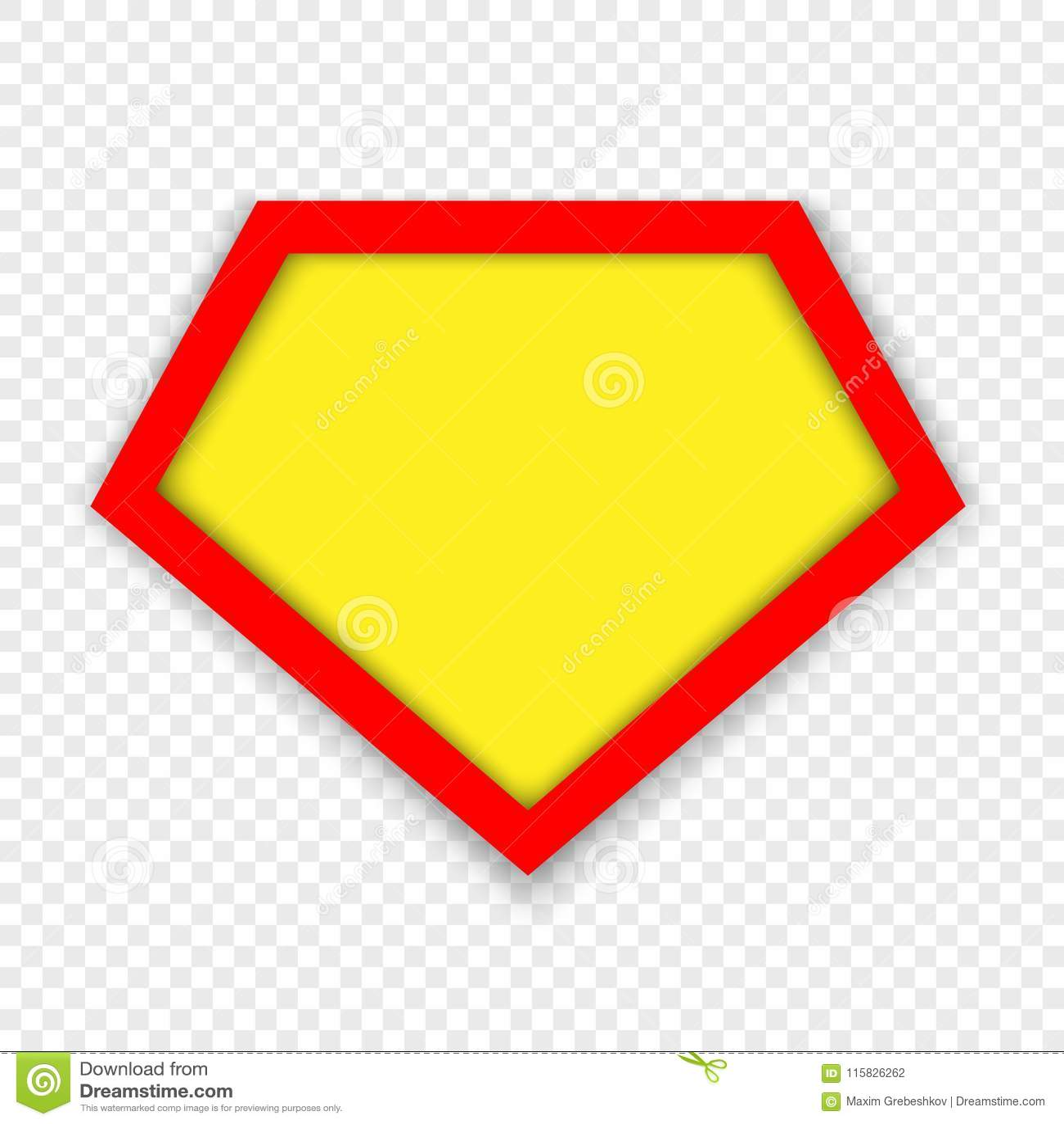 Plantilla del logotipo del super héroe