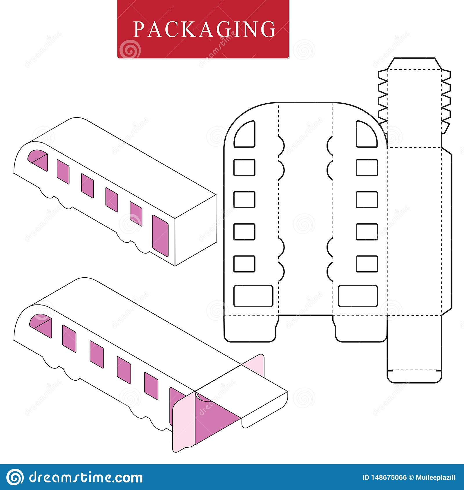 Plantilla del paquete o