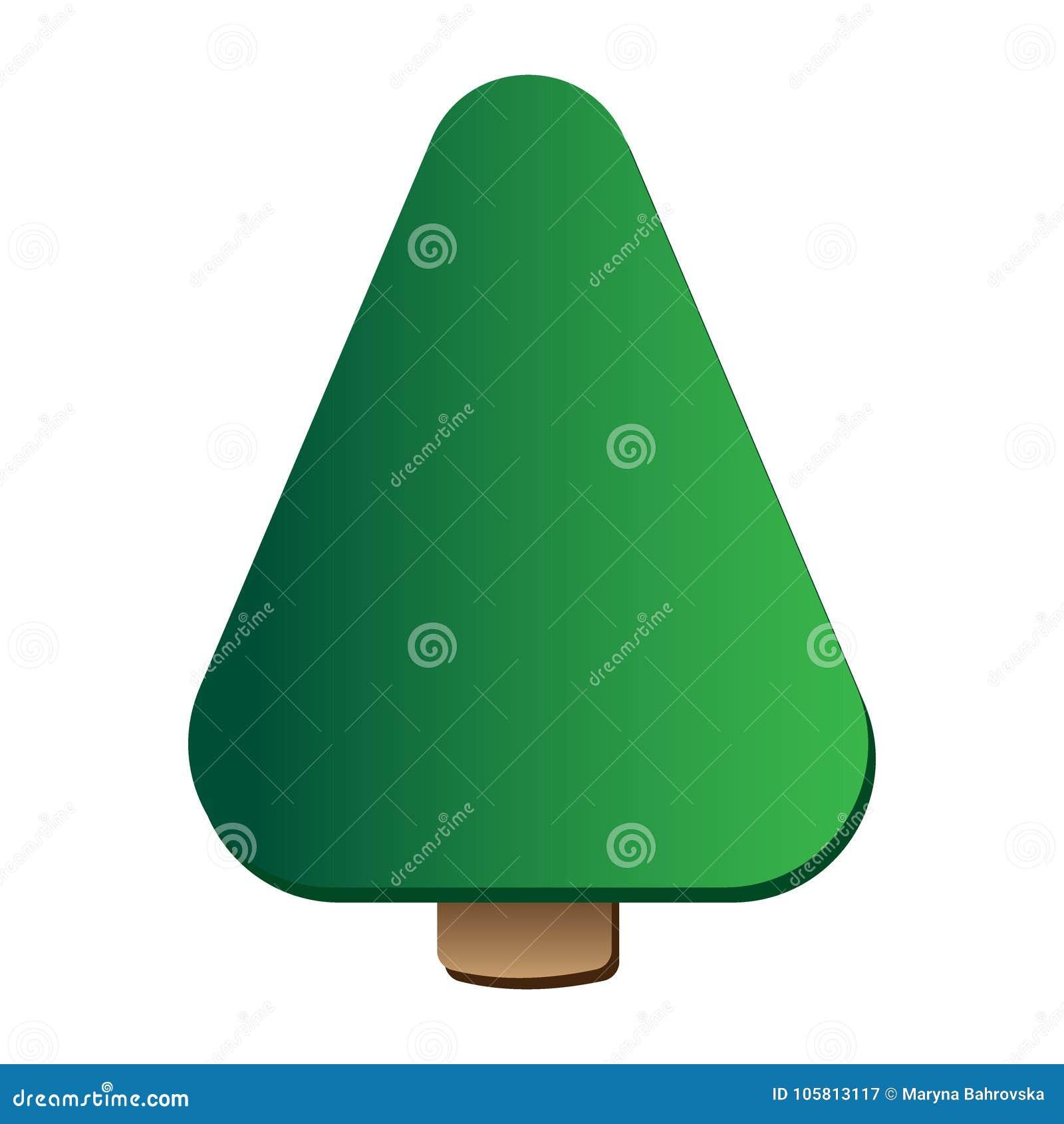 Plantilla Del Vector Del Icono Del Logotipo Del árbol De Pino ...