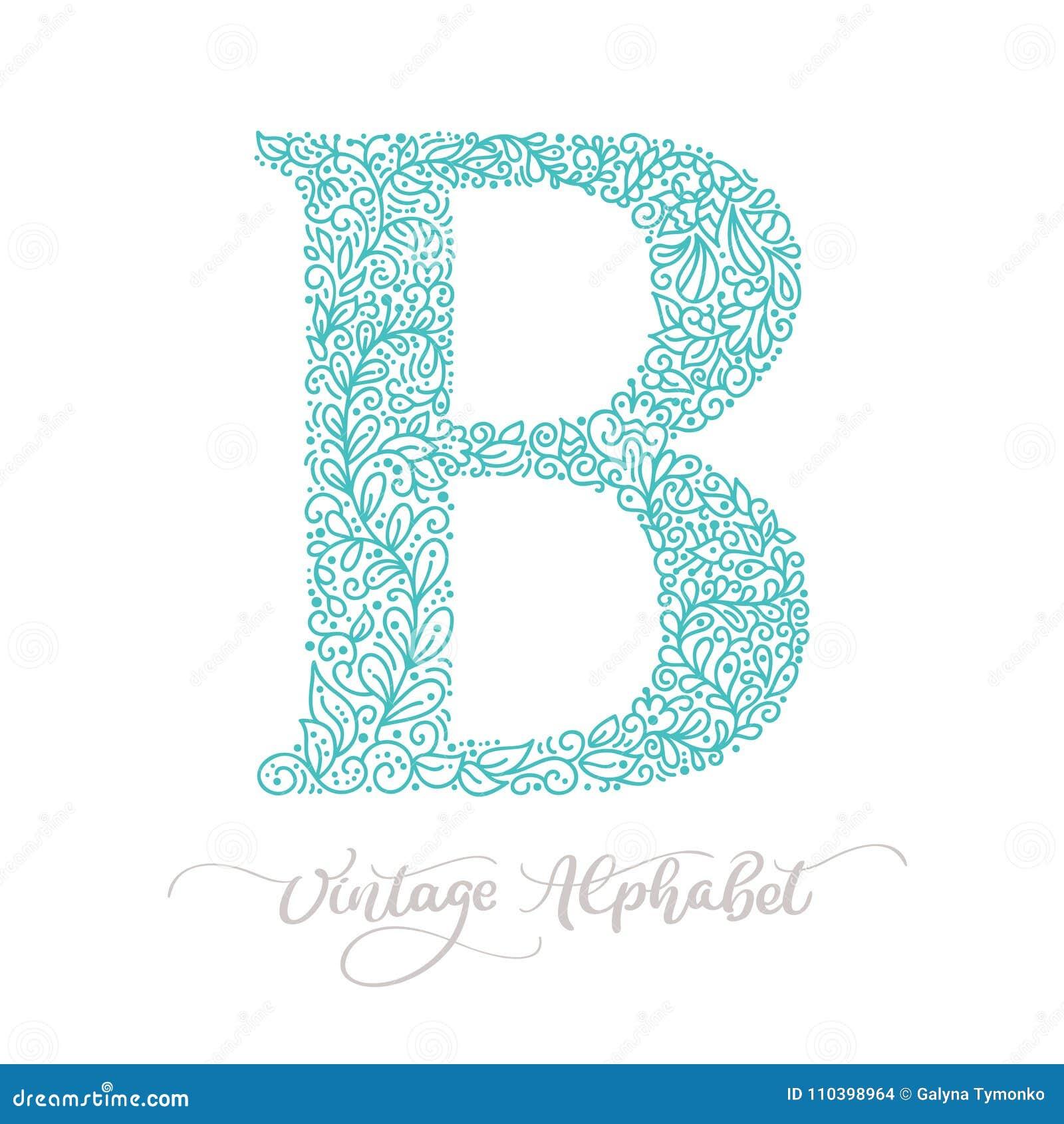 Plantilla Dibujada Mano Del Diseño Del Logotipo Del Vintage De La ...