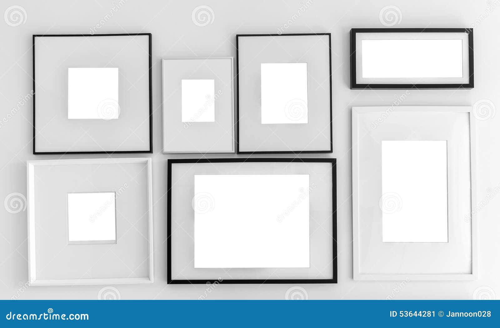 Único Plantilla De Galería De Pared De Foto Imagen - Ejemplo De ...