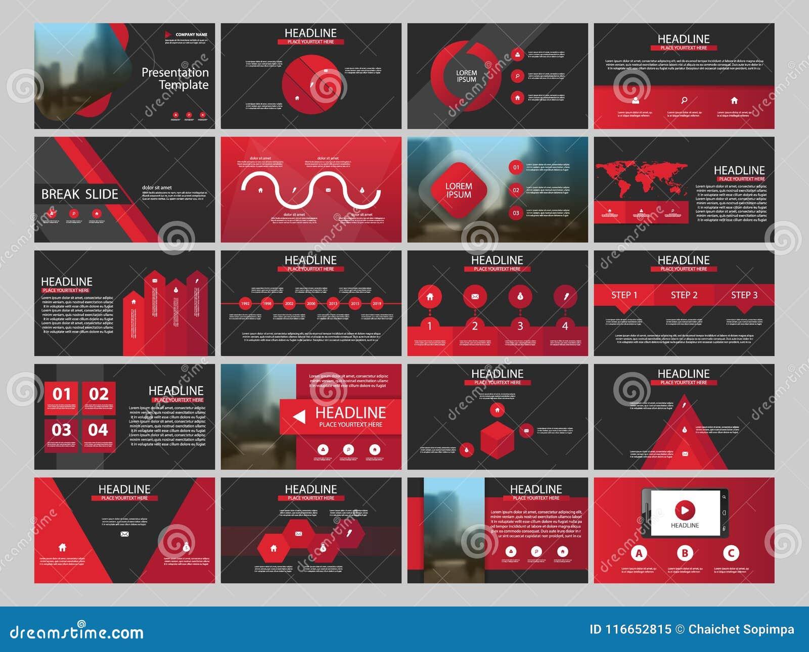 Plantilla Infographic De La Presentación De 20 Elementos Del Paquete ...