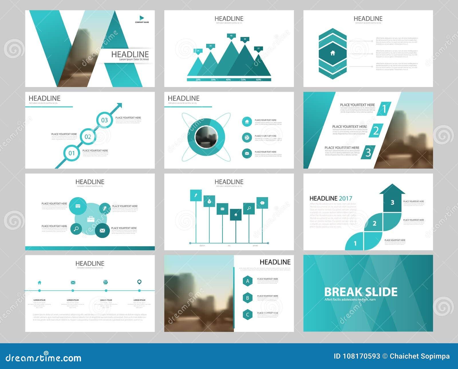 Plantilla Infographic De La Presentación De Los Elementos Del ...