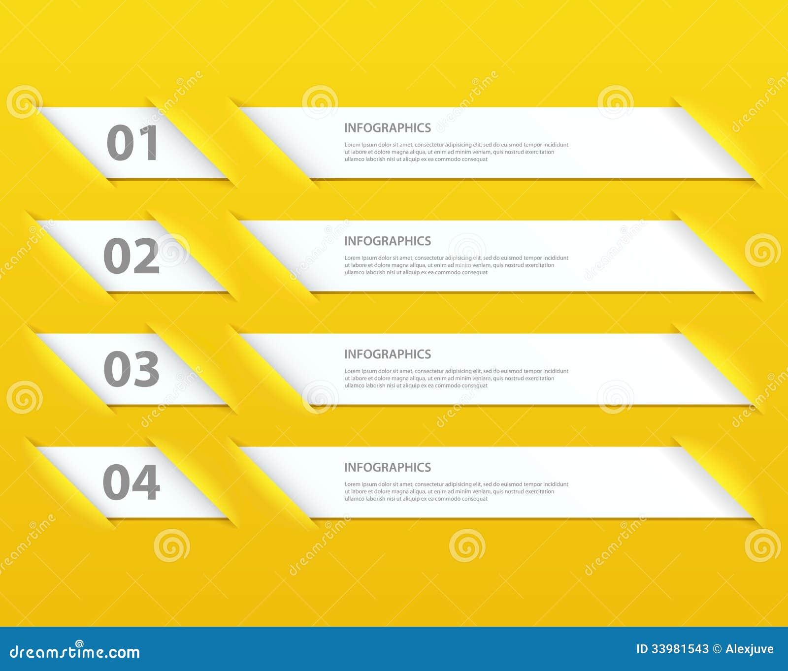 Plantilla infographic de las opciones del diseño moderno