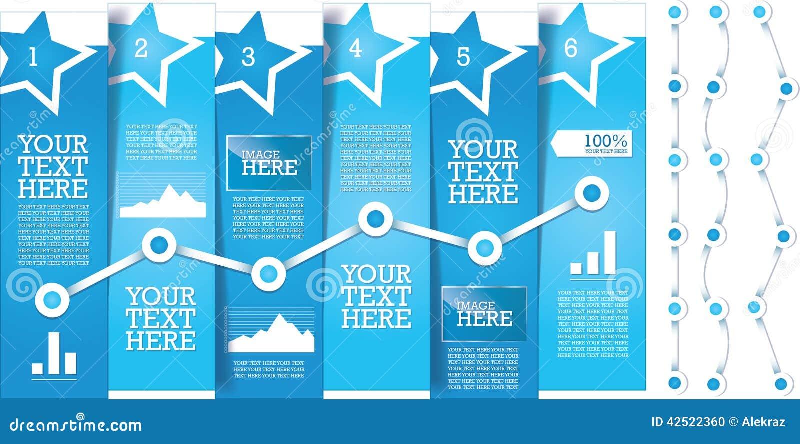 Plantilla limpia, moderna, editable, simple del diseño de la bandera del información-gráfico